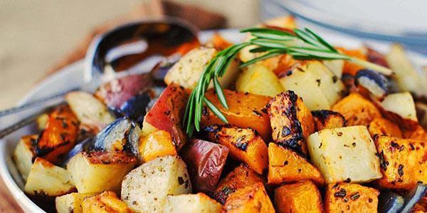 подать овощи к столу