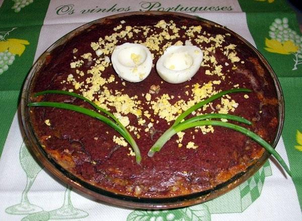 вкусный пирог из печени