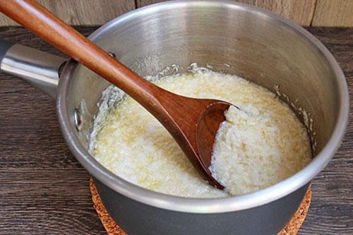 варить кокосовую стружку