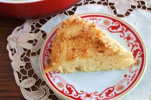 пирог из кокосовой стружки