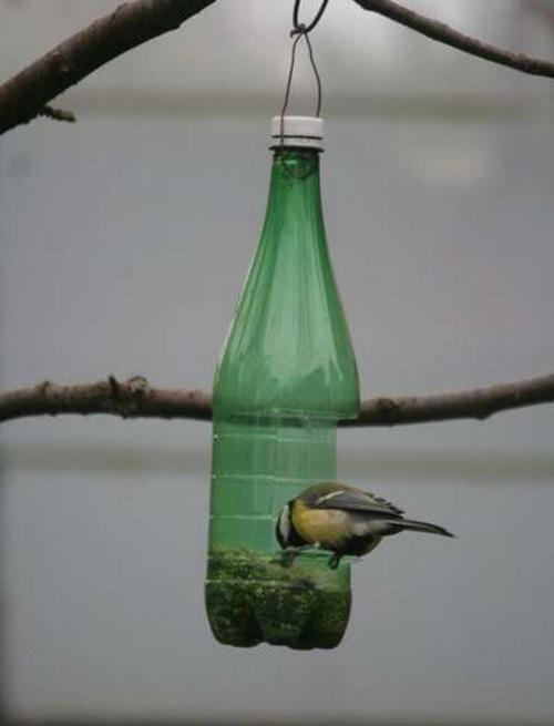 кормушка из бутылки