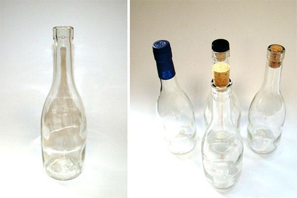 бутылки для хранения настойки из клюквы