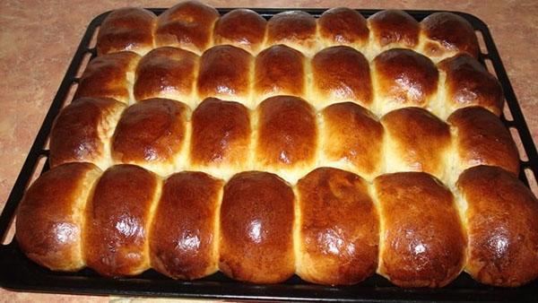 готовые пирожки с картошкой