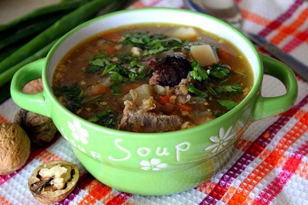 подать суп
