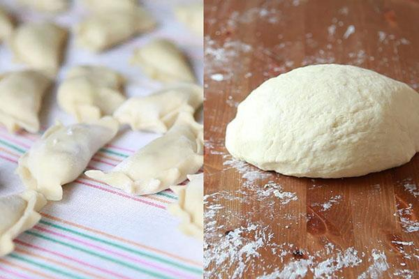 плотное эластичное тесто