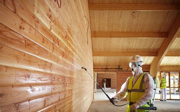 защитная обработка древесины