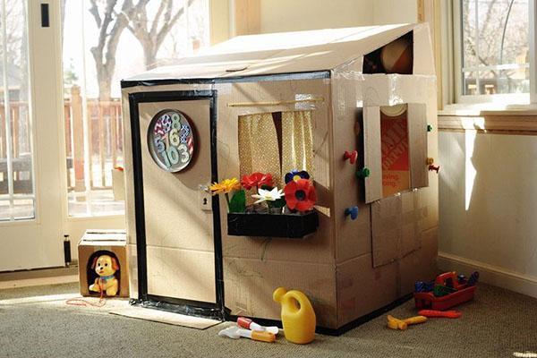 вариант игрового домика