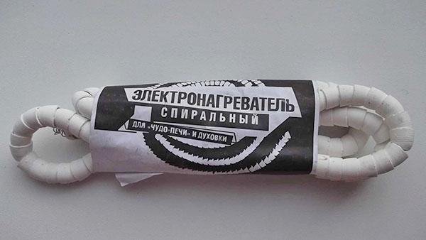 спиральный электронагреватель