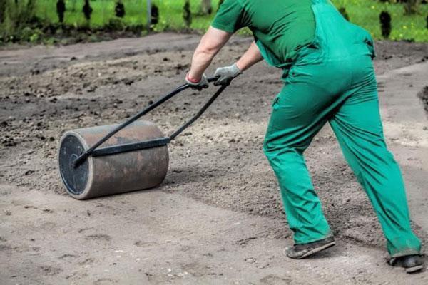 уплотнение почвы