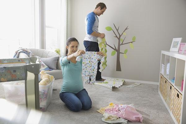 планировка декора детской