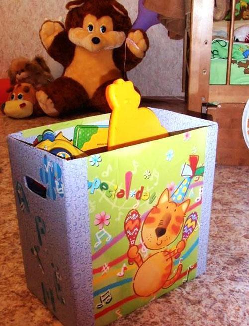 короб из картона