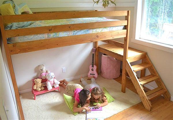 Кровать для маленьких детей своими руками