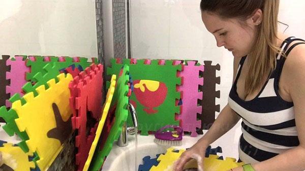 пазлы легко моются