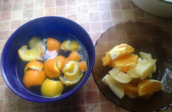 подготовить цитрусовые