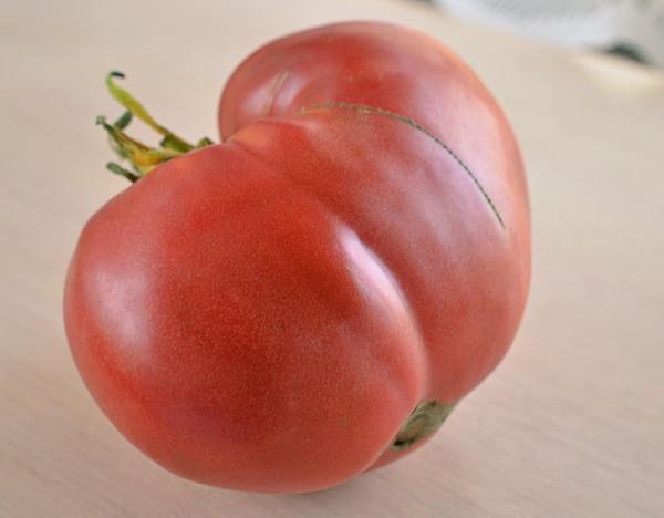 сочный сладкий помидор