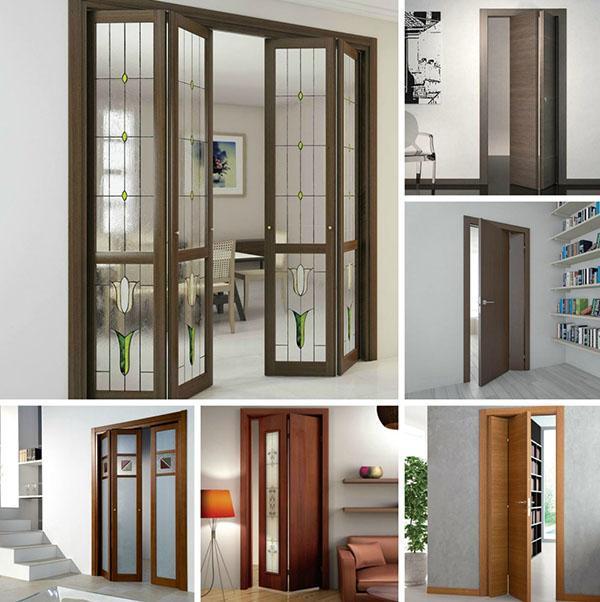 дизайн межкомнатной двери книжка