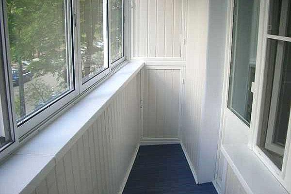 пластиковая вагонка для балкона