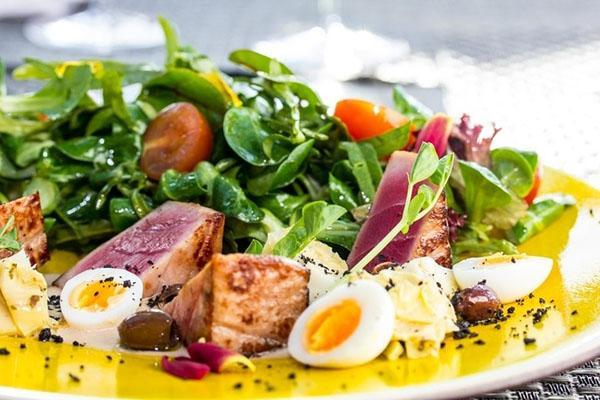 салат с кресс салатом