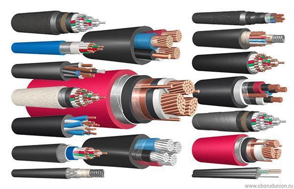 силовой кабель для распределения электроэнергии