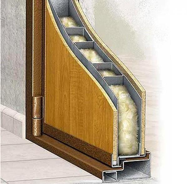 наполнитель металлических дверей