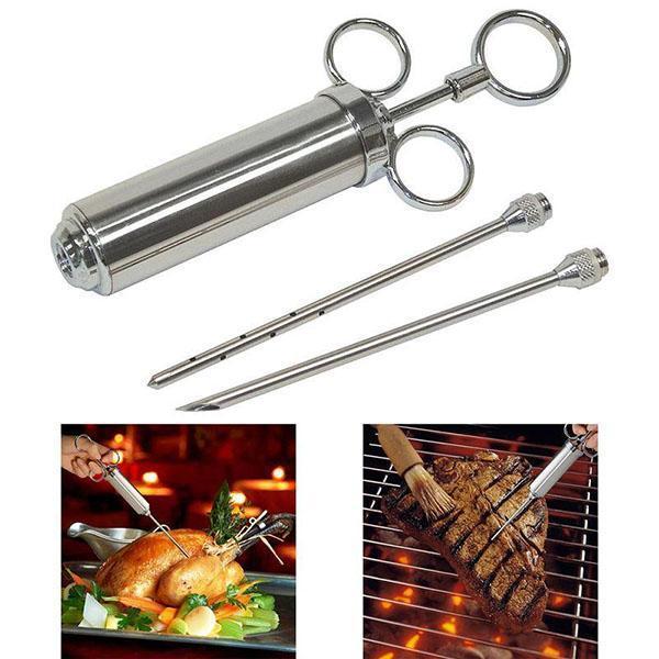 использование кулинарного шприца