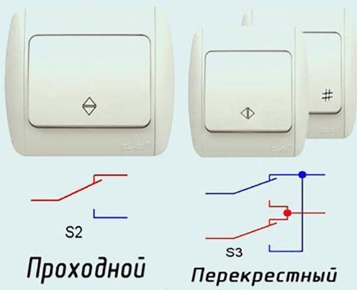 Как сделать проходной выключатель света фото 668