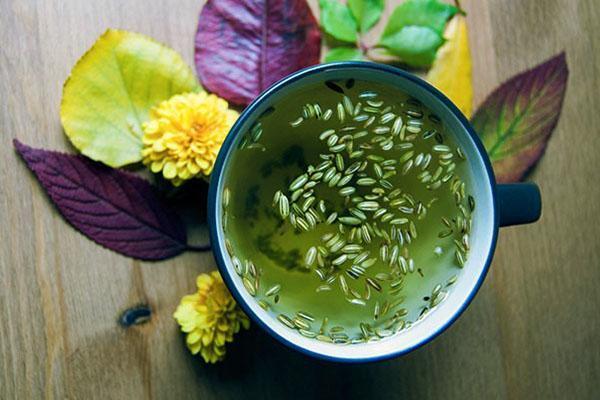 чай с добавкой семян аниса