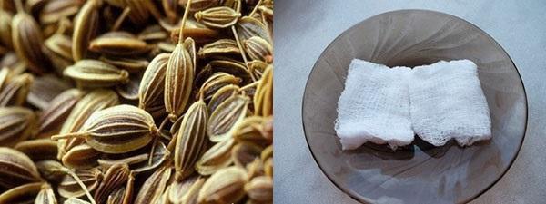 замачивание семян аниса